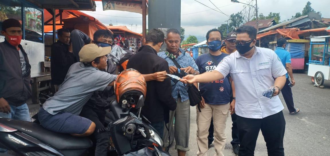 Pwi Padangpanjang Dan Bpjs Bukittinggi Bagikan Gratis Ratusan Masker Padek Co